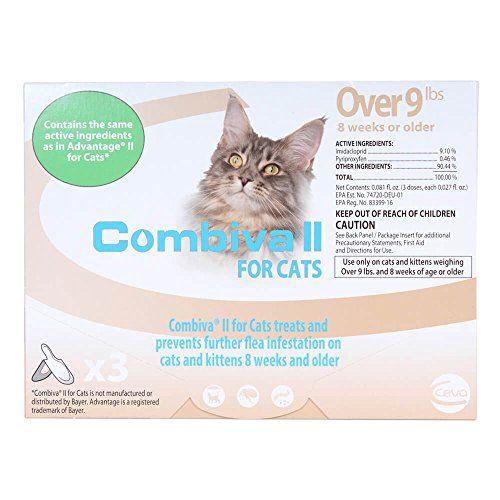 Ceva Animal Health D93120b Combiva Ii For Large Cats 9 Lbs 3 Pack Pet Flea Drops In 2020 Pet Health Cat Safe Plants Cat Fleas