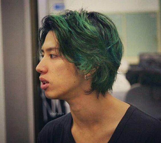 緑髪のTaka