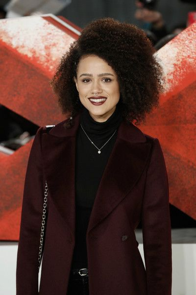 Nathalie Emmanuel attends the European premiere of 'xXx: Return of Xander Cage.'