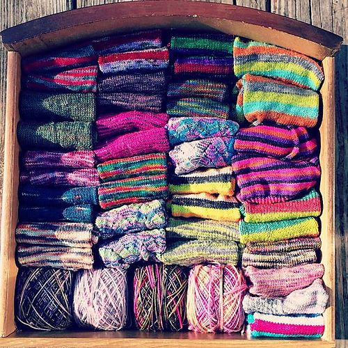 Ravelry: Ashiepoo22's Operation Sock Drawer 18 pairs in 2014
