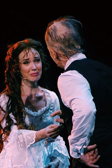 Pinterest • The world's catalog of ideas Ramin Karimloo And Sierra Boggess Phantom Of The Opera