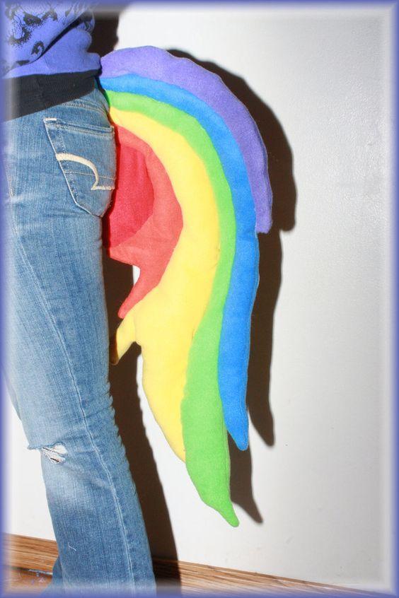 Rainbow dash tail my little pony by primmrose on deviantart boo