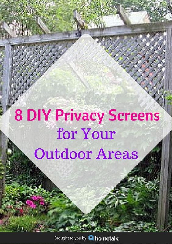Privacy screens outdoor areas and screens on pinterest Screens for outdoor areas