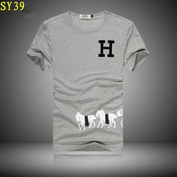 cheap discount Hermes Men Short Sleeved Tees SNHERSTSM028 [$22.00]