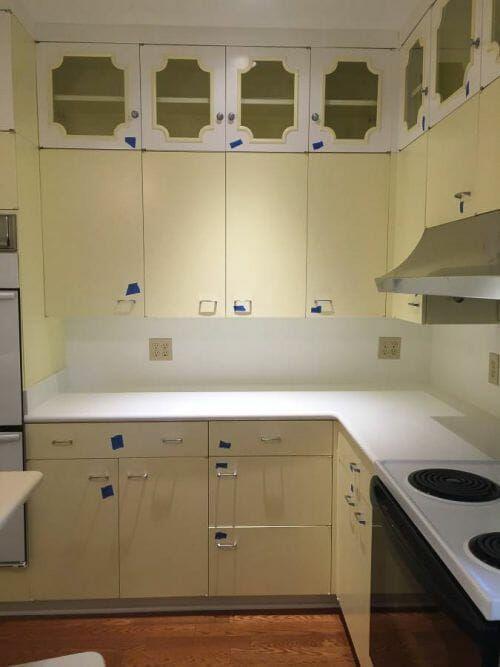 56 Vintage St Charles Kitchen Cabinets Chiffon Yellow I Heart