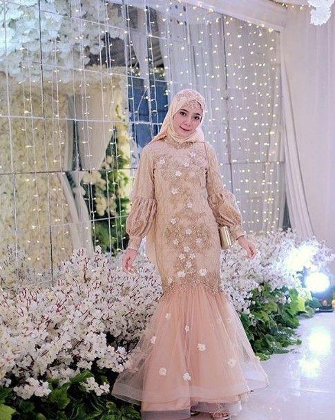 50 Inspirasi Model Baju Gamis Pesta Mewah Terbaru Baju Muslim