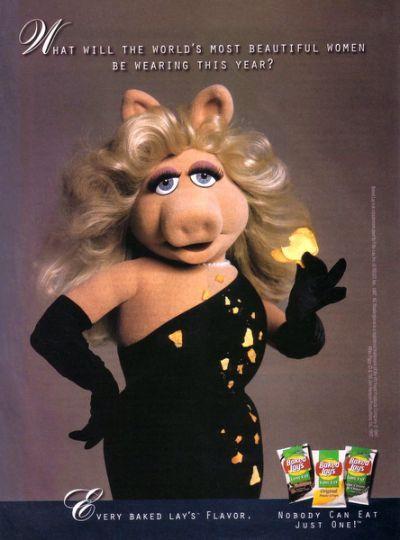 El estilo de… Miss Piggy!