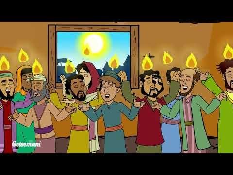 Pentakosta Turunnya Roh Kudus Cerita Alkitab Anak Indonesia Youtube Roh Kudus Pentakosta Sekolah Minggu