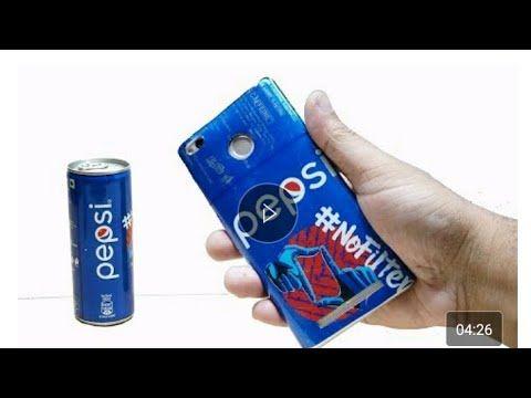 Cara Membuat Kesing Hp Dari Kaleng Bekas Pepsi Youtube Youtube