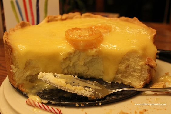 Lemon cheesecake at www.culinarycousins.com by culinarycousins, via Flickr