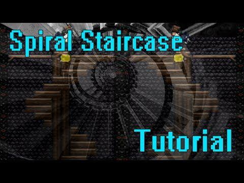 9 Terraria Spiral Staircase Tutorial Youtube Spiral