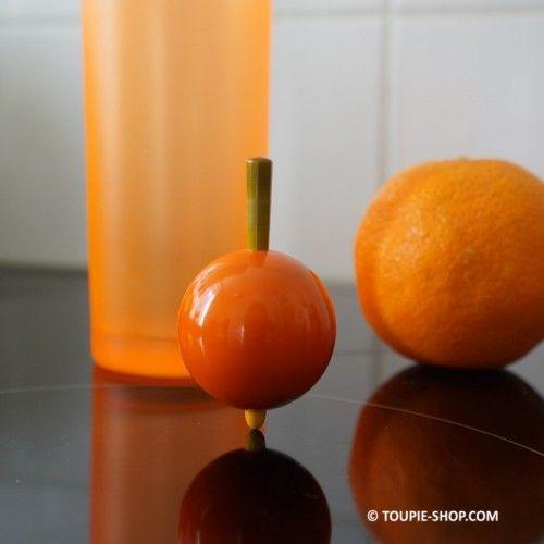Toupie Fruit Orange Jeux en Bois