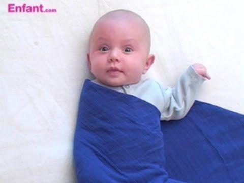 technique d'emmaillotage pour calmer les nourrissons qui ont du mal à s'apaiser pour dormir