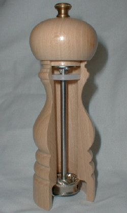 Cross Section Of Peugeot Pepper Mill Product Design