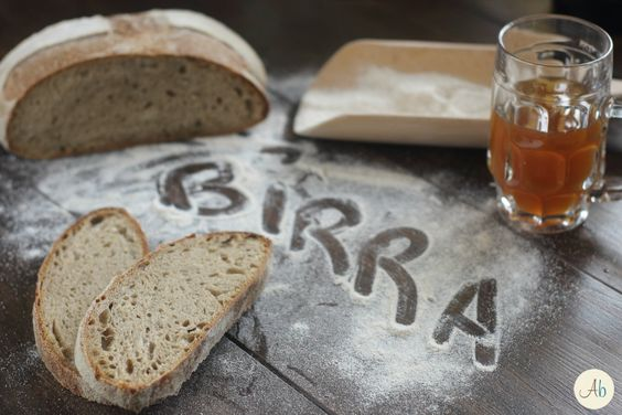 Pane alla Birra Artigianale con Pasta Madre