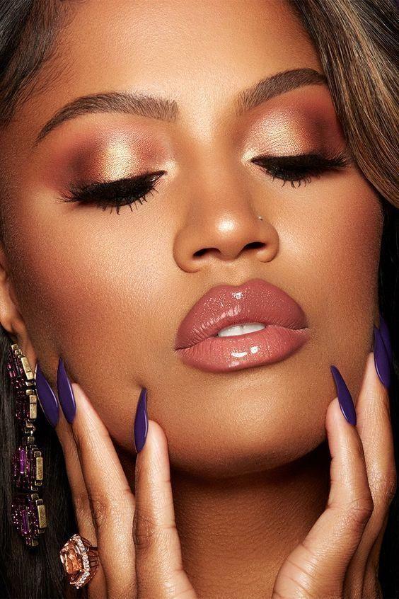 2019 Suitable Makeup Ideas for Black Women