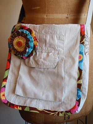 Messenger Bag From Cargo Pants