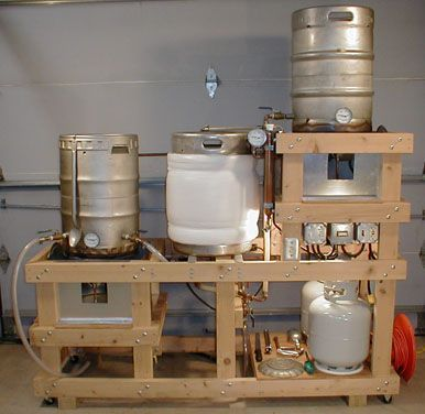 brewery construction guide a step by step guide to the construction of a complete home brewery system designed with burner heat shielding and built in - Home Brewery Design