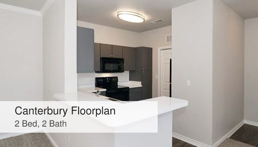 Canterbury Floorplan 2 Bed 2 Bath Chadwick Apartments Floor