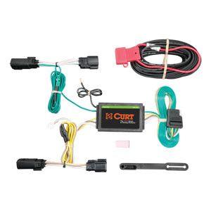 CURT Custom Vehicle-to-Trailer Wiring Harness #56258