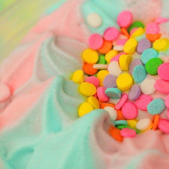 Cotton Candy Dream Cream - Fine-Art Ice-Cream Print - 8x8
