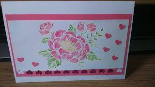 Stine's Basteleien: Eine Blume zur Hochzeit