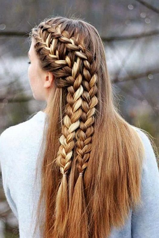 Braids Hairstyle Is Always Fun To Have Many People Choose Braids Hair Styles To Look Different And Classy Hair Styles Braids For Long Hair Braided Hairstyles