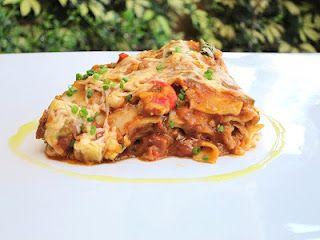Crawfish Etouffee Lasagna