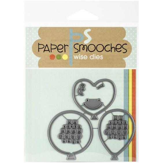 Paper Smooches Die-Big Balloons: Amazon.de: Küche & Haushalt