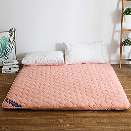 Dulplay Thickn Cotton Mattress Bedroom Bed Pads Topper Foldable Plush Soft Mat Non Slip Matt Mat Mattress Pads Floor Mat Bed Mattress Mattress Bedroom Bed Pads