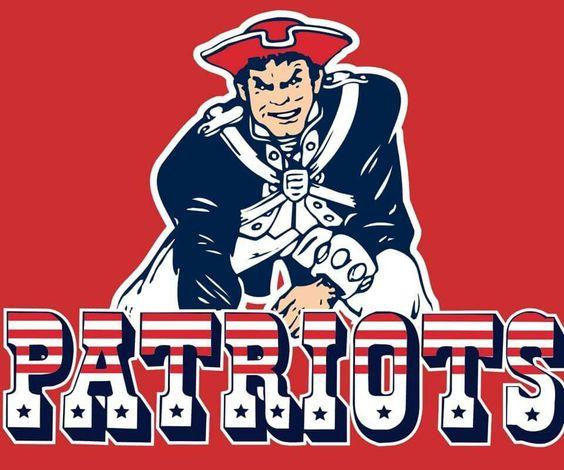 Patriots throwback