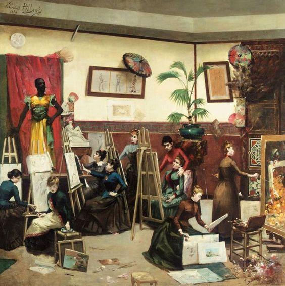Elisabeth Pillard  Les Peintres Femmes, 1886: