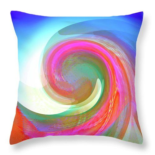 Easy To Love  Throw Pillow by Expressionistartstudio Priscilla-Batzell.  Our…