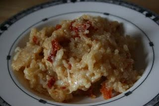 A Year of Slow Cooking: Sundried Tomato CrockPot Risotto: