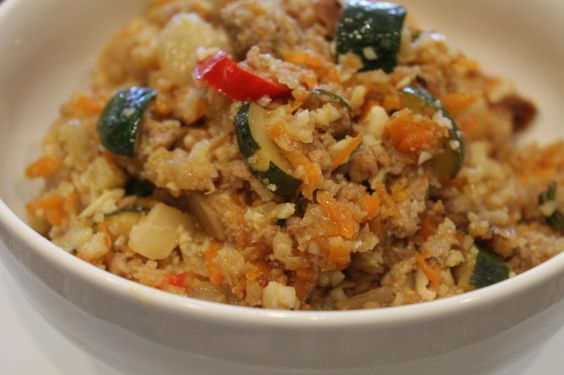 "Thai Paleo Fried ""Rice"""