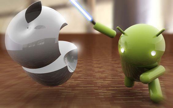 Google Android OS vs. Apple iOS
