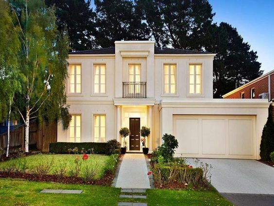 Photo of a house exterior design from a real australian for Classic home exteriors
