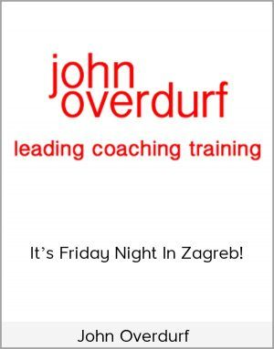 John Overdurf Its Friday Night In Zagreb In 2020 How To Memorize Things Friday Night Zagreb