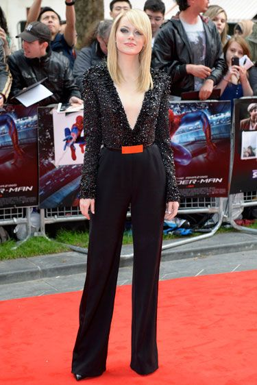 Emma Stone in Elie Saab. perfection.