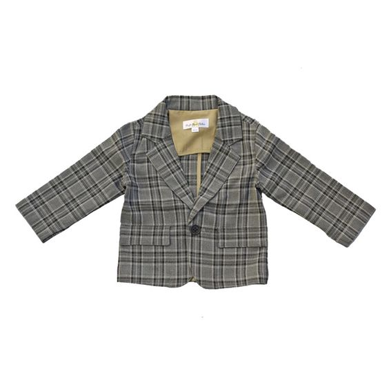 Right Bank Babies/ Boys : Blazer Grey