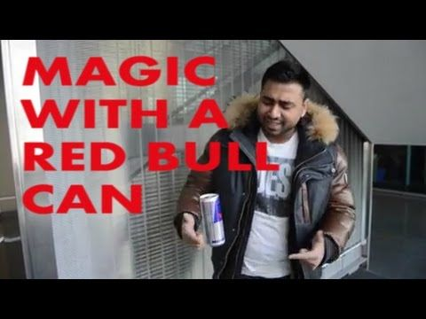 Magic With A Redbull Can !!!