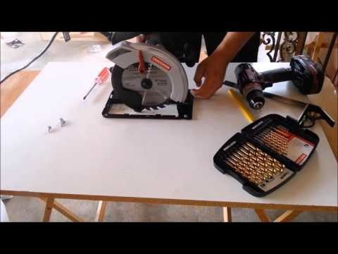 DIY How To Make A Homemade Table Saw