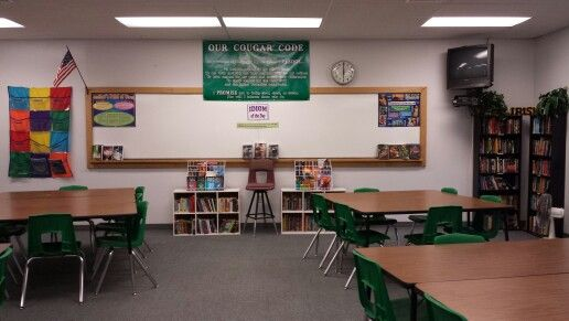 Middle School Reading Classroom Decorations ~ Middle school reading classroom arrangement