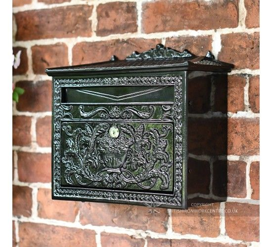 Queen Victoria Vr Wall Mounted Post Box Garden By Uk Architectural Antiques Post Box Antique Mailbox Architectural Antiques