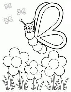 Top 35 Free Printable Spring Coloring Pages Online Boyama Sayfalari Kelebekler Ve Adult Coloring Pages