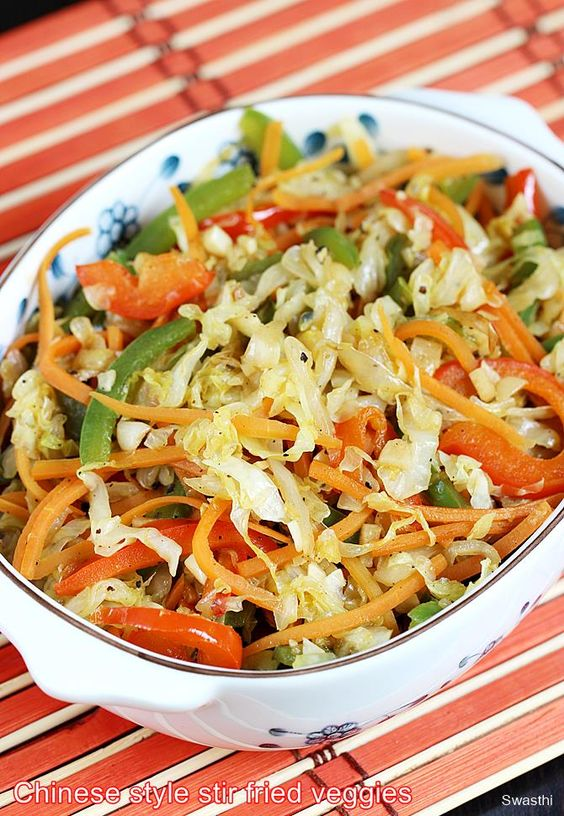 Stir fried cabbage recipe | Chinese style cabbage stir fry