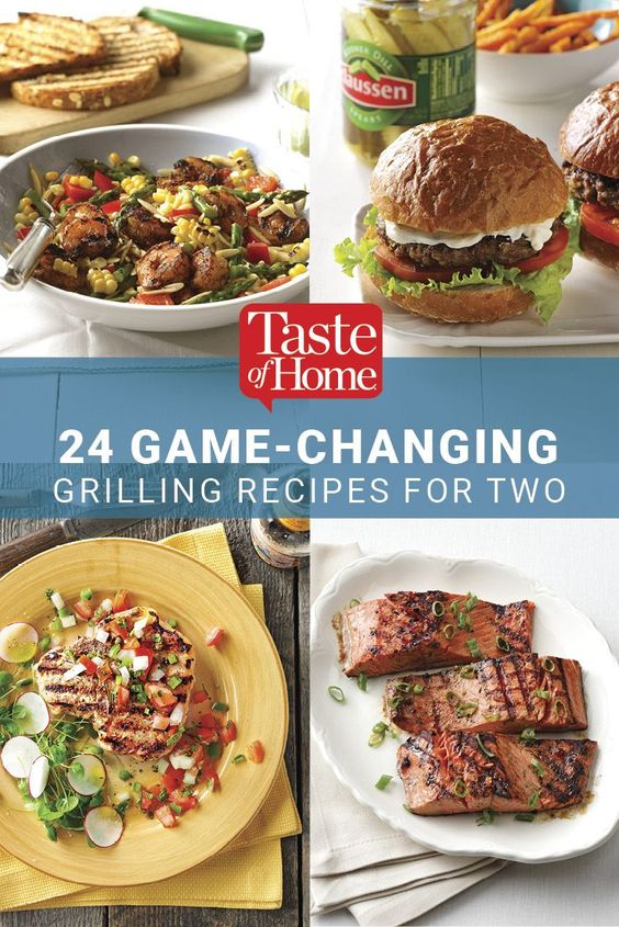 21 Game-Changing Grilling Recipes For Two