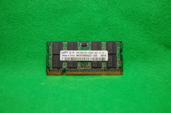 2GB Notebook RAM Samsung M470T5663QZ3-CE6, 200p PC2-5300 CL5, DDR2-667 MHz