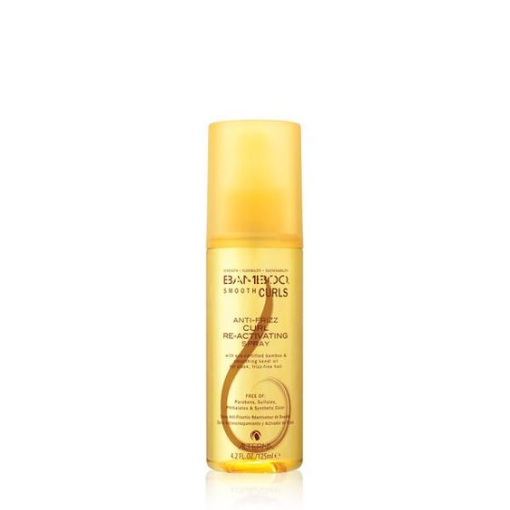 This lightweight mist re-activates, enhances and tames frizzy curls without…