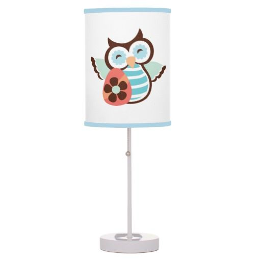 Easter Owl Holiday table lamp